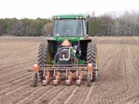 Spring planting at Wilfert Farms